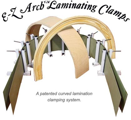 E-Z Arch Laminating Clamp System